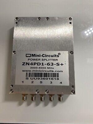 Mini Circuits 4 Way Power Splitter Zn4pd1-63-s