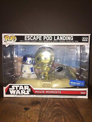 Star Wars Escape Pod Landing Funko Pop Movie Moment