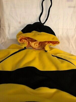 Baby Bumble Bee Costumes (BabyStyle Dress Up BABY COSTUME Honey BUMBLE BEE W WINGS SIZE 6-12)