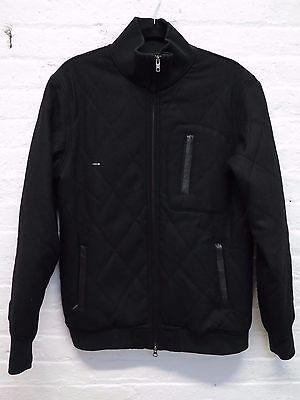 (STPL STAPLE Bomber Jacket Men Black Size L)