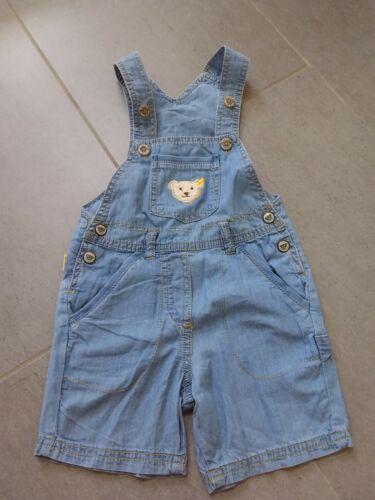 Steiff kurze Jeans Latzhose Größe 80 -NEU-