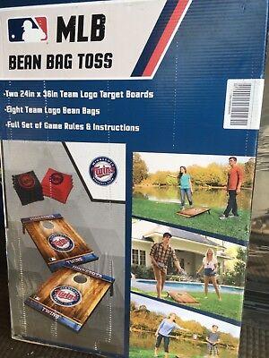 MN TWINS Wild Sports Tailgate MLB Bean Bag Toss Game Set MINNESOTA TWINS New Mlb Tailgate Toss Set