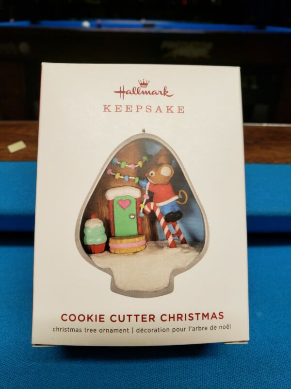 2019 Hallmark Ornament COOKIE CUTTER CHRISTMAS #8 in series New