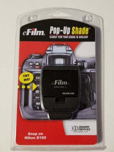 Efilm Pop-Up Shade from Delkin Devices for Nikon D100 Brand New