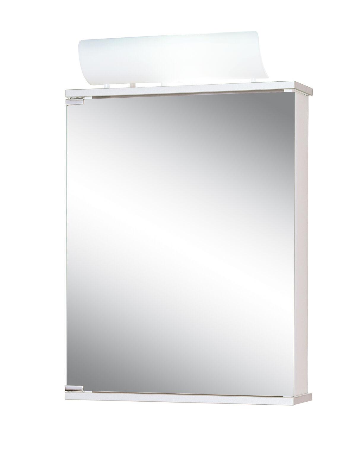 Jokey Spiegelschrank Entro mit Beleuchtung 50 cm breit Alibert Badspiegel