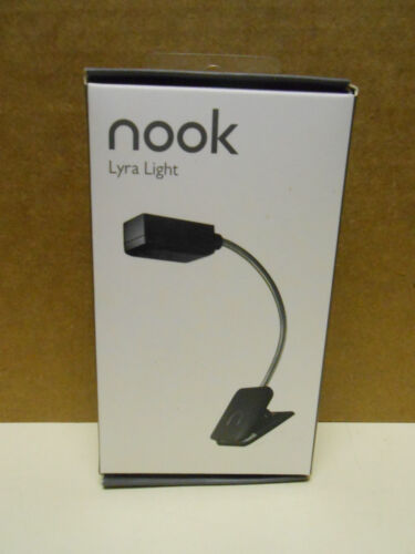 BARNES AND NOBLE NOOK LYRA LIGHT  BLACK COLOR   NIB