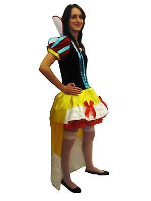 Sexy Schneekönigin Prinzessin Kostüm Kleid Outfit