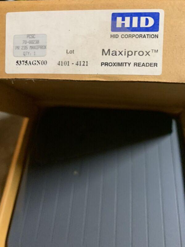 Maxiprox proximity reader not used