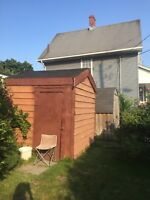 Help wanted: shed removal & relocation
