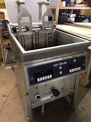 Alto-shaam Electric Deep Fryer Auto-production Filtration System Basketlifts