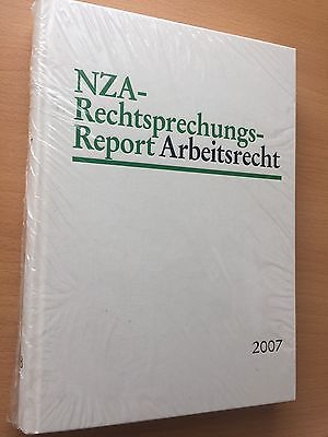 NZA-RR Neue Zeitschrift für Arbeitsrecht 2007 ORIGINAL GEB RechtsprechungsReport