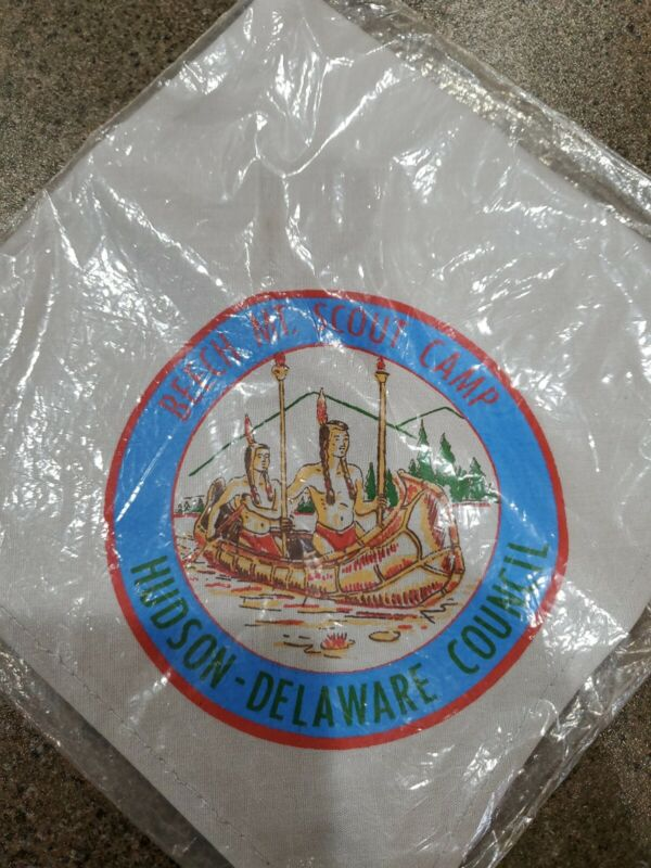 BSA BEACH MOUNTAIN SCOUT CAMP HUDSON DELAWARE COUNCIL NY. SEALED BAG