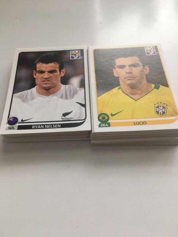Panini South Africa 2010 World Cup Stickers - Choose From List