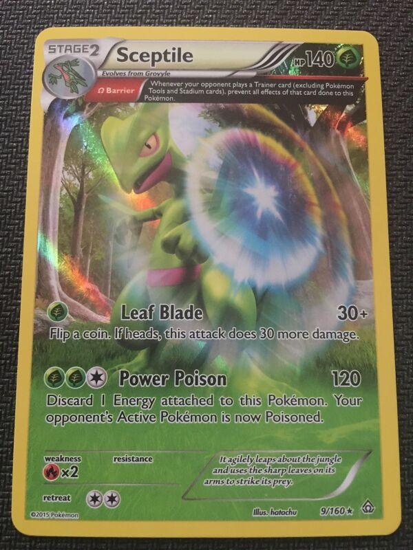 8//160 Rare Reverse Holo Pokemon XY Primal Clash M//NM x1 Sceptile