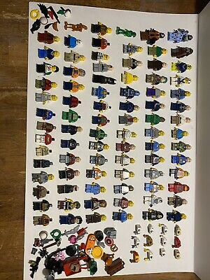 LEGO Minifigure Lot (Star Wars, Lone Ranger, Marvel, DC, Ninjago, Accessories)