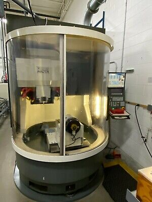 Make Offer Walter Grinders Helitronic 6-axis Cnc Tool Cutter Grinder