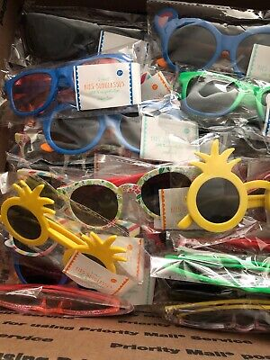 Lot Of 36 Kids Sunglasses Assorted Colors And Shapes (Shapes And Shades)