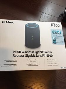 D-link wireless router and printer