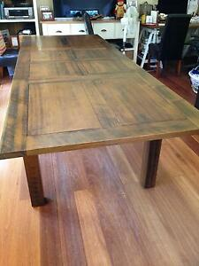 Dining Table in Tasmanian Oak (extendable) Mosman Mosman Area Preview