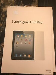 Ipad 2 or 3 clear screen protector new