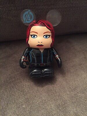 Disney Vinylmation Figure Black Widow From The - Black Widow From The Avengers