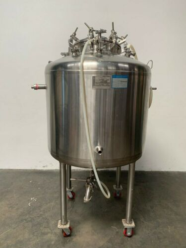 Paul Mueller 375 Liter Jacketed Stainless Steel Bioreactor 100 PSI