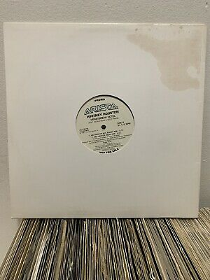 "Whitney Houston Lp 12"" Heartbreak Hotel Promo N. M 1999 Remix Faith Evans New"