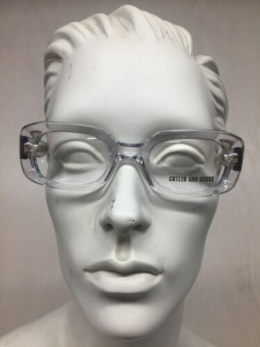Cutler and Gross  Unisex Glasses Clear