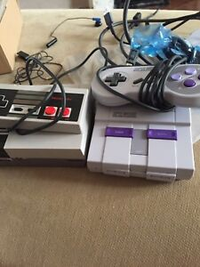 Nes classic edition snes classic edition preowned