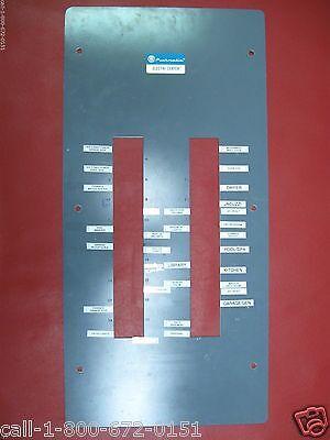 Used 200 Amp Pushmatic Electri-center Bulldog Panel Cover 40 Space