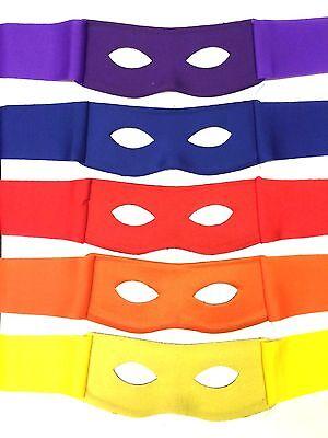 Ninja Turtle Bandit Masken Zorro Dieb Held Kostüm Kleid für Erwachsene/Kinder