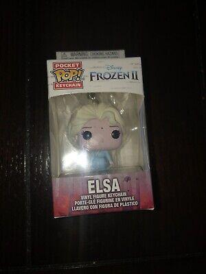 Funko Pocket Pop Keychain Disney Frozen 2: Elsa Vinyl Figure Keychain