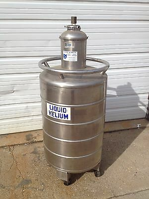 MVE Cryogenics Delta 100 Liter Liquid Helium Nitrogen Portable Tank LN2 - Portable Helium Tanks