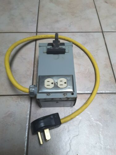 Acme Electric General Purpose Transformers portable T-2-53009-S 240 to 120 volts