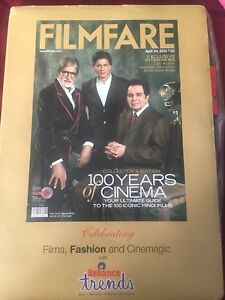 India filmfare 100 years of cinema special issue