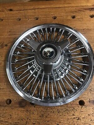 1965 Ford Mustang Wire Spinner Hubcap 14 Inch