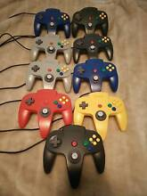 Nintendo 64 Official Controllers - tight joysticks! Forrestfield Kalamunda Area Preview