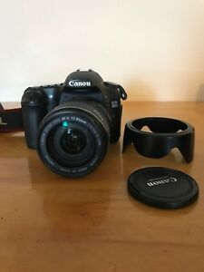 Canon EOS 30D with EFS 17-85mm lens, comes with case