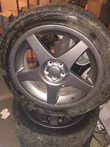 5x100 geniun work wheels Redcliffe Redcliffe Area Preview