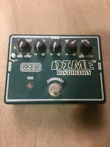 Mxr dd11 Dime distortion.