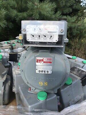 Schlumberger Model 250 12 5 Psi - Gas Meter