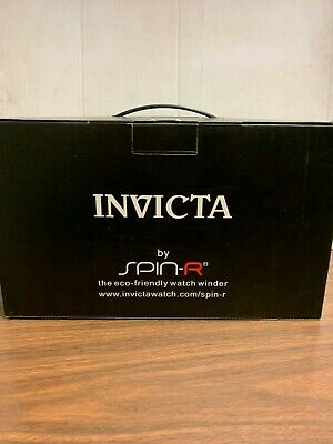 Invicta Reserve Lupah Dragon Meteorite Swiss Made Auto 7750 Valjoux Watch Winder