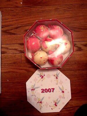 Disney Tinkerbell Decoupage Christmas Ornaments 2007
