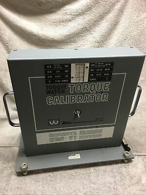 Waters Honeywell Torque Watch Calibrator Model 6500-t3 Great Condition Complete