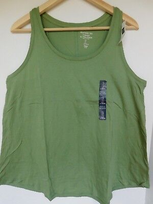 Green Sleeveless Tank Top (NWT Gap Women's Sleeveless Feather Tank Top Green Sizes XS S M L Free)