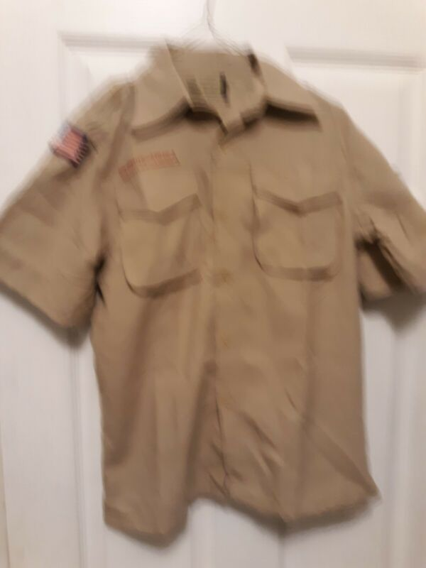 Boy Scouts of America Uniform Shirt-Youth-Large-S/S-New