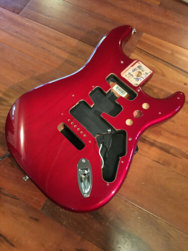 Fender Strat Stratocaster FSR Translucent Burst Candy Apple Red Alder Body