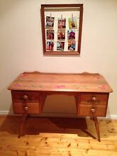 Solid wood desk drawers dresser Chadstone Monash Area Preview