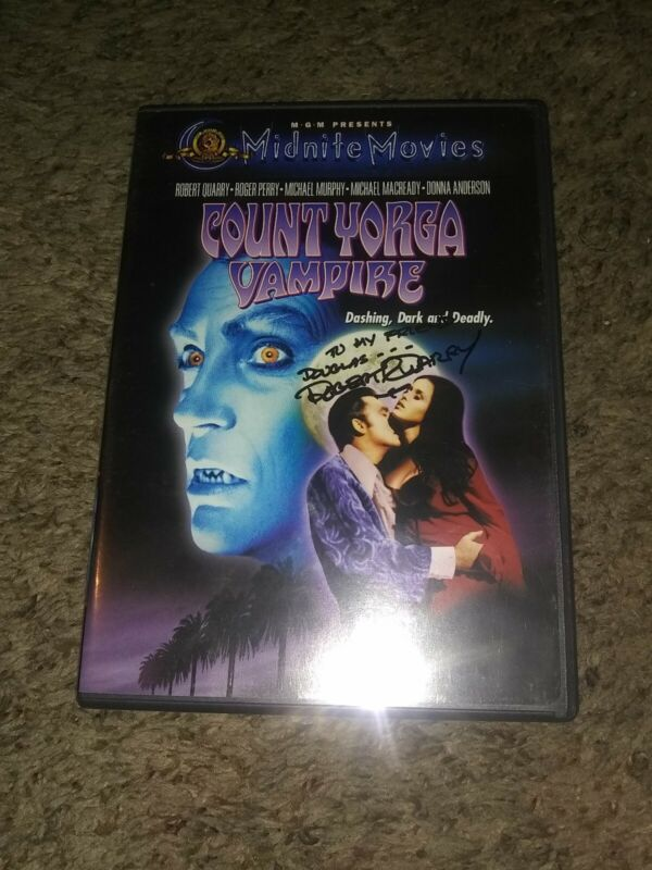 Count Yorga Vampire Autographed