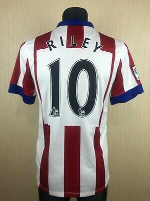 ATLETICO MADRID 2014/2015 RILEY HOME FOOTBALL SOCCER JERSEY SHIRT NIKE SIZE S image